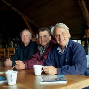 Goede portretfoto | Locatieportret met 3 mannen | Goede portretfotograaf Judith den Hollander.