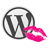WordPress update. WordPress logo.