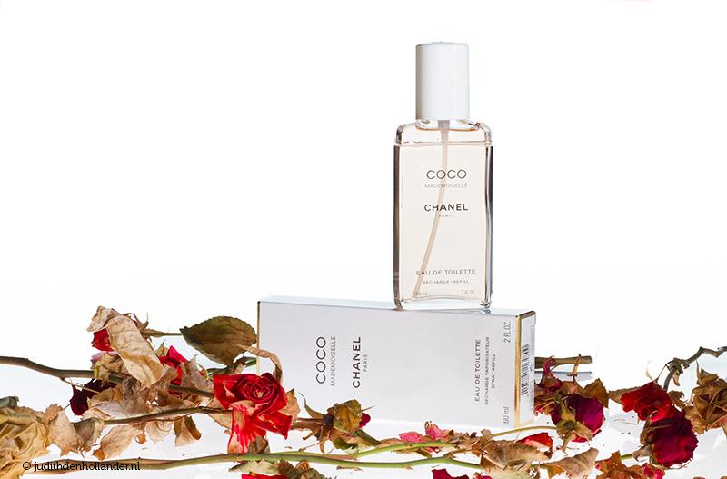 Productfotografie parfumfles | Product photography perfume - high key