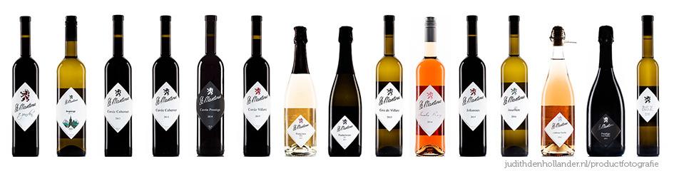 Productfotografie Gulpen-Wittem-Vijlen | 15x wijn Wijngaard St. Martinus | Mooie Nederlandse wijn | Wijngaarden Zuid-Limburg | Dutch wine.