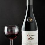 Wijnfles fotografie | Productfotografie Wijnfles | Chileense rode wijn in wijnglas en wijnfles. Fotostudio JDH Wittem, Zuid-Limburg.