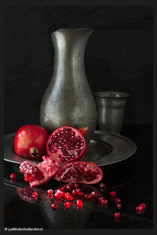 Autonoom project | Fine Art Serie 'Oudhollands' - Fotografie Judith den Hollander | Eigentijds Oudhollands en Food | Stillevens - fine art serie | Still life | Nature morte.