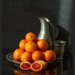 Great light Still Life with Oranges   Mooi licht, Fine Art Serie   Fine art fotokunst   Serie Oudhollands © Judith den Hollander
