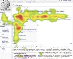 Onmisbare tips website teksten | F patroon Eye Tracking | Essentiële website gebruikersvriendelijkheid.
