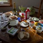 Gedekte Zweedse tafel   Herinnering aan een sociale activiteit en gebeurtenis.