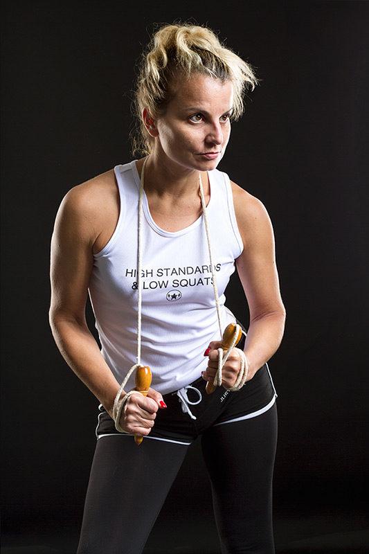 Fitness shoot | Studio JDH Maastricht | Fotograaf Judith den Hollander.