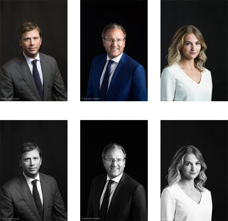Corporate Headshots in Maastricht and Haarlem.