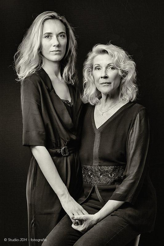 Fotoportret Moeder en Dochter